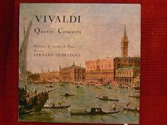 LP Vivaldi 4 Konzerte PV 54,233,320 & 411 (Oubradous)