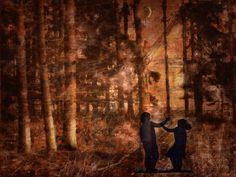 Hänsel and Gretel Digital Art by mimulux patricia no