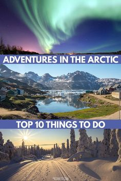 The Arctic Circle is a huge place, divided between eight countries. When you have so much land to cover and so much interesting stuff to see, picking a favourite can become a nightmare. Here are some of the best adventure spots in the far north.