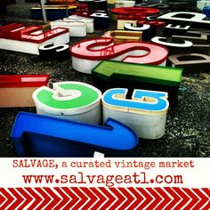 Love vintage? Mark your calendar for Salvage on September 14th. Tomorrow (July 26) is the application deadline. www.salvageatl.com
