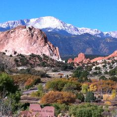 Garden of the Gods in Colorado Springs, CO  Photo by Leah Smit