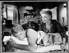 """Troy Donahue and Dorothy McGuire in""""A Summer Place"""" (1959)"""