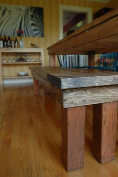 make your own table and bench
