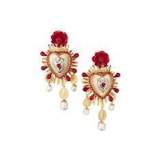 イヤリング ❤ liked on Polyvore featuring jewelry, earrings, dolce & gabbana and earrings jewelry