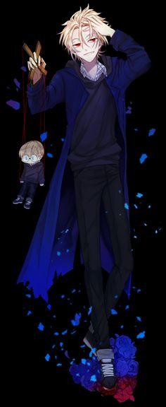 Kekkai Sensen, Black
