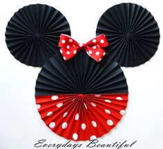2pc / inspired character / 2 heads total / by EverydaysBeautiful, $14.50   WILL ORDER IN HOT PINK AND WHITE POLKA DOTS ***NOT RED!
