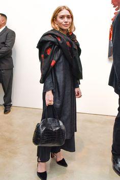 How Ashley Olsen Elevates An All-Black Look