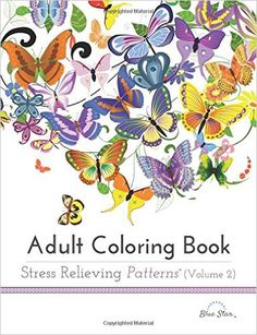 Adult Coloring Book: Stress Relieving Patterns Volume 2: Adult Coloring Book Artists: 9781941325179: Amazon.com: Books