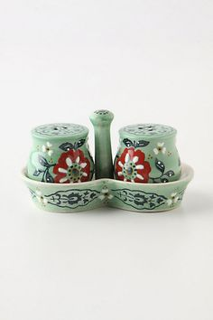 I really wish that I could register for things at Anthropology, like this Karvina Salt & Pepper Shaker Set.