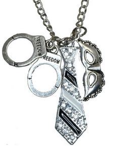 Fifty Shades of Grey Charm Necklace