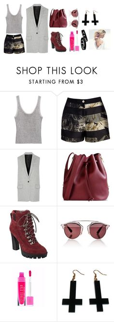"""Sweetie Plum"" by hien-anhhs on Polyvore featuring mode, Bebe, Ted Baker, rag & bone, Sophie Hulme, Nine West, Christian Dior et Chicnova Fashion"