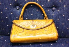 1950s Vintage small western leather purse by TheBigMaresBarn on Etsy, $75.00