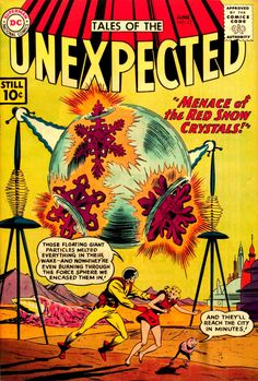Tales of the Unexpected #62 (DC, 1961) - Bob Brown cover.