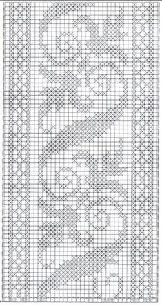 crochet crochet paso a paso Free idea Crochet Borders, Crochet Diagram, Crochet Chart, Thread Crochet, Crochet Motif, Crochet Doilies, Crochet Bedspread, Crochet Curtains, Tapestry Crochet
