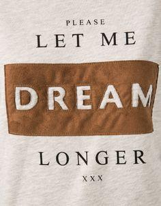 BSK text sweatshirt - Sweatshirts - Bershka United Kingdom
