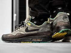 newest collection 129f9 1ccf9 Mens Sneakers   Shoe Tree by Sole Trees · Nike Air Max 1  Black History  Month  - 2012 (by Gino Gold)