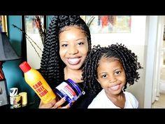 Cutest Crochet Braids for Little Girls! | TEEDAY6 - YouTube
