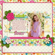 Sweet Shoppe Designs::NEW Releases::National Scrapbook Day 2013::Life Stories: This Girl by Kristin Cronin-Barrow & Zoe Pearn