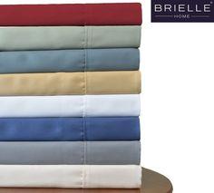 Brielle 100% Sateen Modal from Beech 4PC Sheet Set NEW #Brielle #SateenWeave