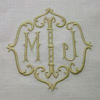 Love custom monograms   Monogrammed Pillows   Towels   Home D?cor   Dinnerware   China