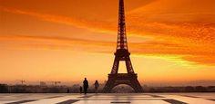 Tour Eiffel puesta de sol