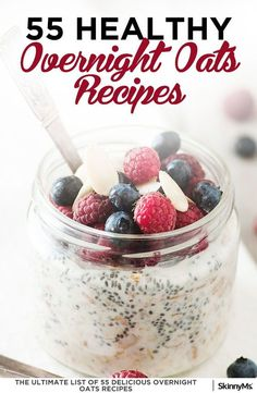 Nutritious Snack Tips For Equally Young Ones And Adults 55 Healthy Overnight Oats Recipes Easy Breakfast Ideas Healthy Breakfast Recipes Overnight Oats Recipes Healthy Breakfast Smoothies, Healthy Breakfast Recipes, Breakfast Ideas, Breakfast Fruit, Healthy Breakfasts, Breakfast Dishes, Cacao Sampaka, Overnight Oatmeal, Overnight Breakfast