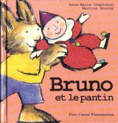Bruno et le pantin CPRPS 31997000813493 Ce livre conte l'histoire de Bruno, un petit lapin, qui souhaite un jour acquérir un pantin. Heureusement que maman lapin est là! Discipline, Bruno, Illustrations, Conte, Winnie The Pooh, Disney Characters, Fictional Characters, Images, Bunny