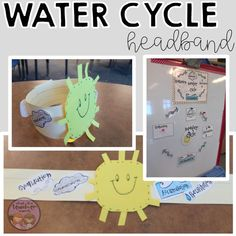 Teach your students about the water cycle, sink/float, bodies of water, bubbles, and more! This is one of my FAVORITE thematic units to tea. About Water Cycle, All About Water, Stem Science, Teaching Science, Science Activities, Common Core Writing, Balanced Literacy, Stem For Kids, Thematic Units