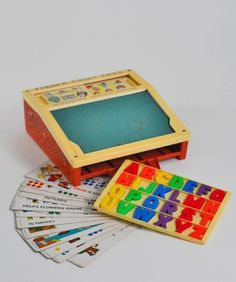 Image detail for -vintage fisher price school desk vintage 1970 s fisher price school ...