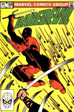 Daredevil Comic Book Covers Ranked