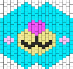 Pony Bead Projects, Pony Bead Crafts, Kandi Mask Patterns, Bead Patterns, Cute Crafts, Diy And Crafts, Arts And Crafts, Kandi Bracelets, Crochet Faces
