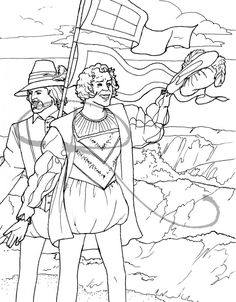 coloring pages about colonial life squanto social studies pinterest social studies homeschool and unit studies