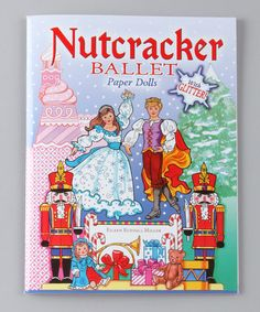 Take a look at this Nutcracker Glitter Ballet Paper Dolls Paperback by Under the Tree: Toys & Books on @zulily today!