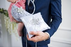 Wedding ring pillow & flower girl basketfrom the от DiAmoreDS #purple wedding, #wedding ring pillow, #wedding ring pillows, #toasting flutes, #black and white wedding, #wedding flutes, #personalized toasting flutes, #wedding, #ring bearer pillow, #wedding ideas, #damask wedding decorations, #damask, #bride, #silver wedding, #bride and groom, #ring, #ring pillow, #ring pillows, #personalized ring pillow