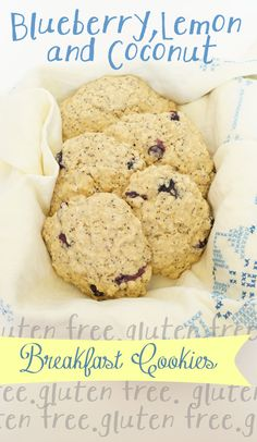 These super yummy breakfast cookies are #dairyfree and #glutenfree but your kids will eat them up!  I like mine with a bit of raspberry jam....