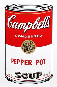 Andy Warhol, Campbell Soup Can: Pepper Pot, 1964