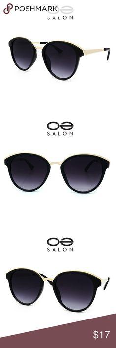 0445a6f91f O2 Eyewear 652 Round Oval Style Aviator Sunglasses Lightweight frame  Clear  Lens