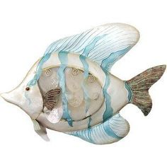 Best coastal wall decor and beach themed wall art for your home. We have some of the absolute best beach style wall decorations including canvas art, wall art, metal art, wooden beach signs, and more. Beach Wall Decals, Fish Wall Decor, Wall Decor Design, Wall Art Designs, Beach Signs Wooden, Coastal Wall Decor, Wall Decor Online, Natural Area Rugs, Tropical Fish