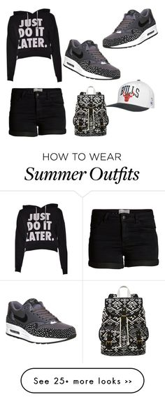 """Tomboy outfits for summer"" by gabrielle-rodney on Polyvore                                                                                                                                                                                 More"