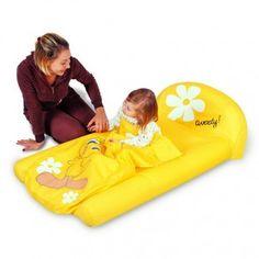 Lit d'appoint gonflable pour enfant à partir de 2 ans - Bestway Titi 135 x 79 x 41 cm