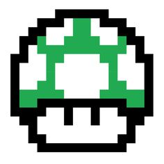 Mario Bros 1 Up Mushroom Pixel Gamer Geek Decorative Linen Throw Cushion Cover Super Mario Brothers, Super Mario Bros, Super Nintendo, Nintendo 64, Spray Paint Stencils, Mushroom Tattoos, 8 Bits, 8 Bit Art, Pixel Games