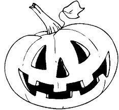 halloween pompoen kleurplaat - Google zoeken