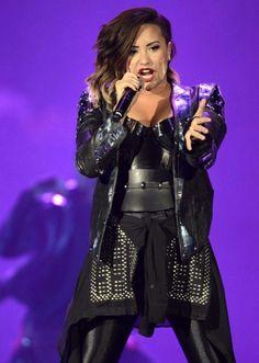 Demi Lovato at the Pepsi Center in Denver, Colorado - September 25th #DEMIWORLDTOUR