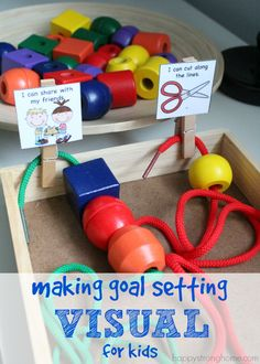 Setting Goals with Kids – Making Achievement Visible! Teaching kids to set goals and achieve them can be a delicate balancing act. Use the SMART goal method: specific, measurable, achievable, results-focused, and time-bound.