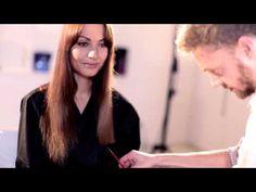 L'Oréal Professionel Sombré con frangia & Cut by Fred - Tutorial - YouTube