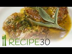 Love Italian dishes but find them hard to make? The Chicken Saltimbocca is a recipe that in Italian means 'chicken that jumps in your mouth' and with Healthy Cooking, Cooking Recipes, Easy Recipes, Easy Meals, Chicken Saltimbocca Recipe, Banting Recipes, Chicken And Shrimp, Turkey Dishes, Chicken And Dumplings