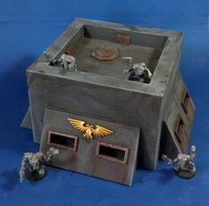 Old school bunker - Forum - DakkaDakka | Just a few skulls short of a throne.