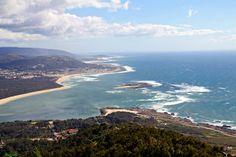 view from Santa Tecla, Galicia, Spain
