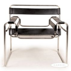 wassily chair, lounge chair, wassily metal, leather |
