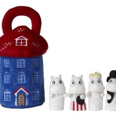 Moomin House With Finger Puppets - Aurora Puppet Kids Toy Story Book for sale Moomin House, Finger Puppets, Cute Characters, Toy Story, Baby Items, Nursery Decor, Kids Toys, Stationery, Books
